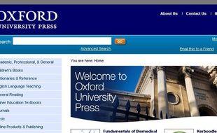 Les presses universitaires d'Oxford.