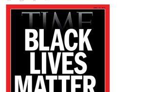 Capture Twitter,n Time Magazine, Black lives Matter