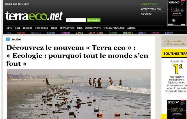 Terra eco lance une nouvelle formule sur le papier et sur le web.