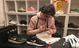 L'atelier Sneakers and Chill à Paris.