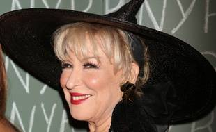 L'actrice Bette Midler