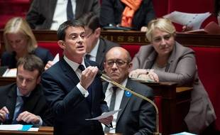 Manuel Valls à l'Assemblée.