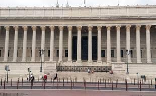 Le palais de justice de Lyon. (illustration)
