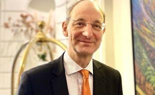 Pascal Personne, président de l'aéroport de Bordeaux Mérignac