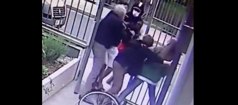 L'agression a eu lieu dimanche à Paris