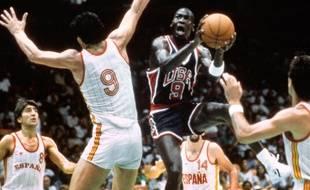 Michael Jordan aux JO 1984