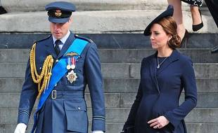 Kate Middleton et le prince William en mars 2015 à Londres.