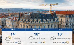 Météo Valence: Prévisions du samedi 18 mai 2019