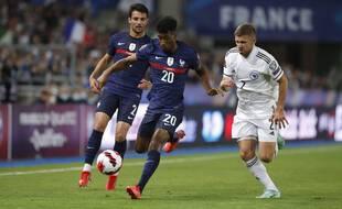 Kingsley Coman, le 1er septembre 2021 face à la Bosnie.