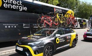 L'équipe vendéenne «Direct Energie».
