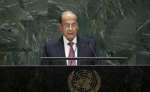 Michel Aoun en 2019