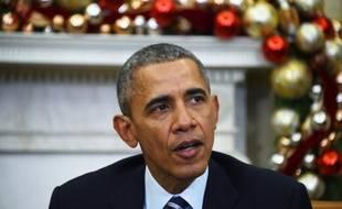 Le président Barack Obama, le 3 décembre 2015 à la Maison Blanche