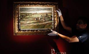 La peinture «Raccommodeuses de filet dans les dunes» de Vincent Van Gogh est partie pour plus de sept millions d'euros.