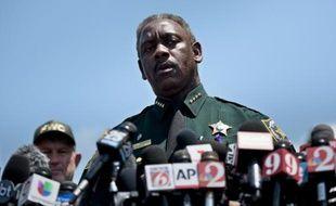 Le shérif du comté d'Orange, Jerry Demings, lors d'une conférence de presse le 15 juin 2016 à  Orlando en Floride