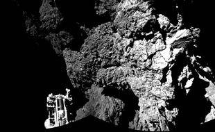 Mission Rosetta: Les photos de Philae et de Tchouri