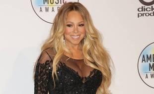 La chanteuse Mariah Carey aux American Music Awards