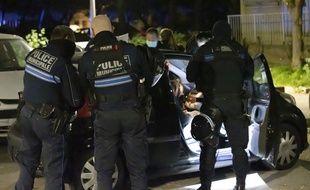 Photo d'illustration de la police.