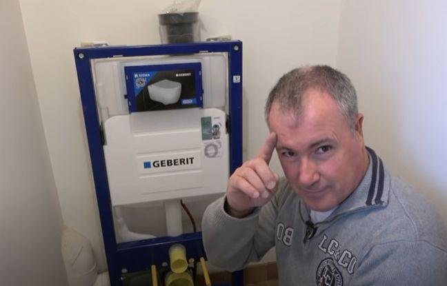 David Juanes est plombier à Saint-Just, dans l'Hérault