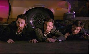 Charlie Day, Jason Bateman et Jason Sudeikis dans Comment tuer son boss 2