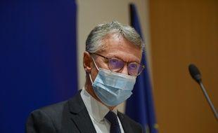 Jean-François Ricard, lors de sa première conférence de presse sur l'enquête, samedi.