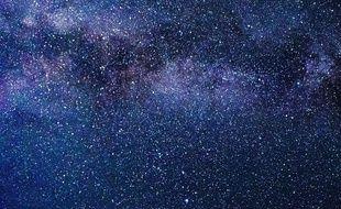 Illustration d'un ciel étoilé.