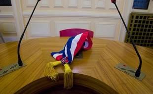 Illustration d'une écharpe de maire