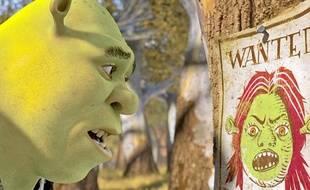 L'ogre Shrek, dans le quatrième et dernier volet de ses aventures.