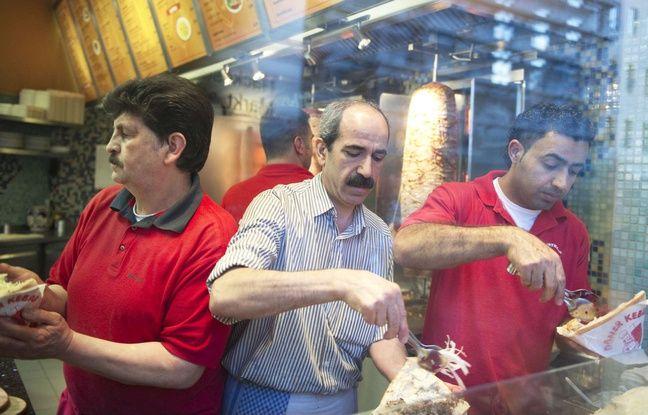 Un kebab à Istanbul, en Turquie