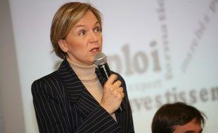 Virginie Calmels, tête de liste Les Républicains pour les élections régionales