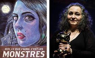 « Moi, ce que j'aime c'est les monstres » a valu le Fauve d'or du Festival d'Angoulême à Emil Ferris, son autrice