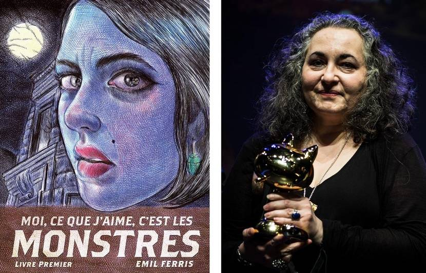 VIDEO. Angoulême: Qui est Emil Ferris, la miraculée qui a reçu le Fauve d'or du meilleur album?