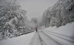 Cette température extrême a été enregistrée dans les Pyrénées espagnoles. Illustration.