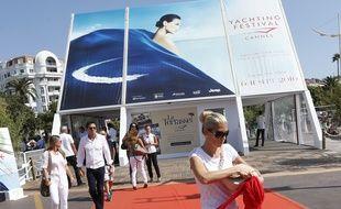 Des visiteurs du «Yachting Festival», le 9 septembre 2015, à Cannes (Archives)
