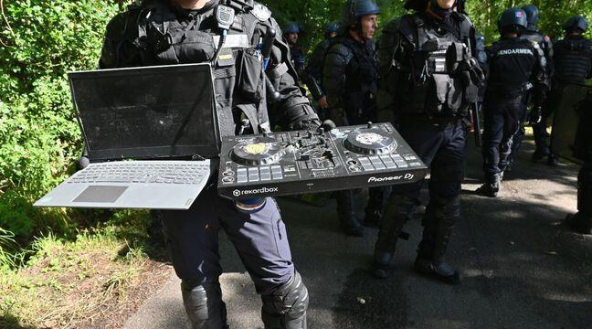 Rave party à Redon : « Du jamais vu »… Pourquoi les gendarmes ont-ils détruit le matériel des teufeurs à coups de hache ?