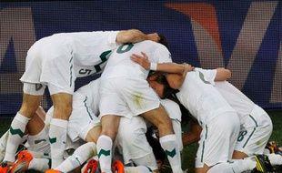 Le plus beau tas de cette première semaine de la Coupe du monde est attribué à la Slovènie, le 18 juin 2010.