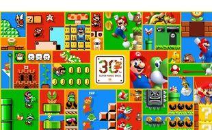 Les 30 ans de Super Mario.