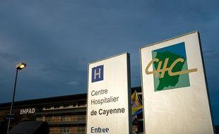 Le centre hospitalier de Cayenne, en Guyane, fait face à l'augmentation de cas de Covid-19.