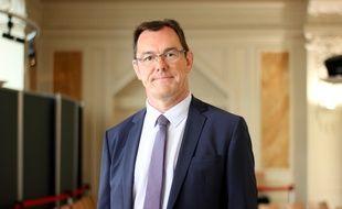 Le député rennais de la 3e circonscription d'Ille-et-Vilaine François André, ici en 2017.
