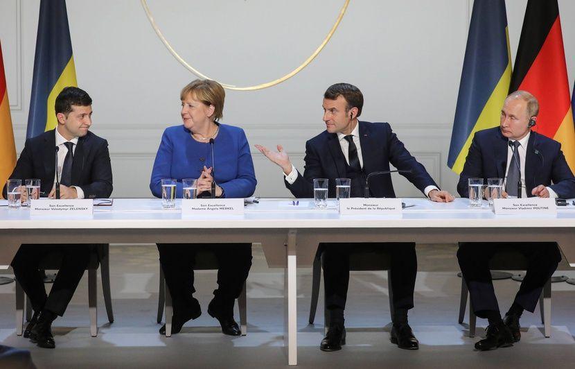 Sommet de Paris : Poutine salue un « pas important » vers une désescalade en Ukraine