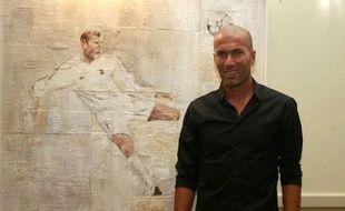 Zinedine Zidane en septembre 2010