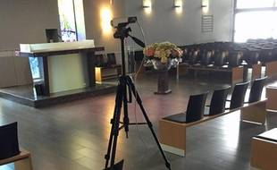 Les cérémonies funéraires sont retransmisses en streaming dans des salles virtuelles sécurisées.