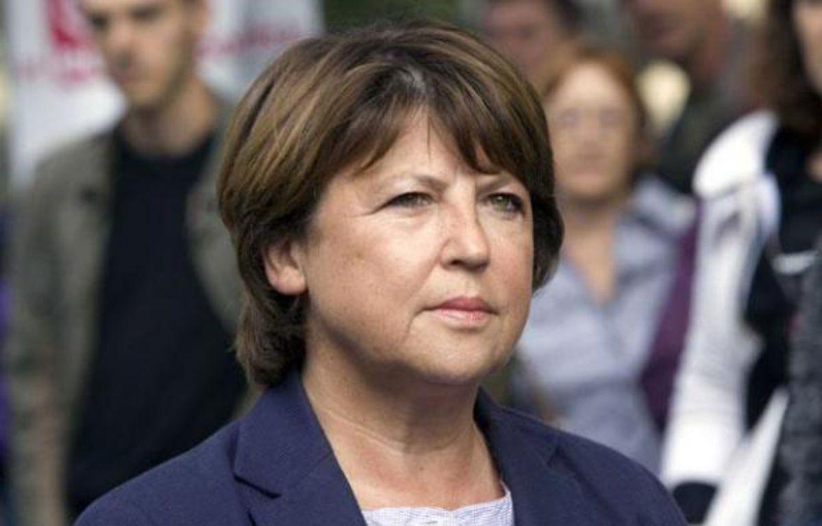 Martine Aubry, en septembre 2010 à Paris. – SICHOV/SIPA