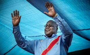 Felix Tshisekedi, proclamé vainqueur de l'élection présidentielle en République démocratique du Congo, à Kinshasa, le 21 décembre 2018.