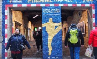 Des animations sur le handball se déroulent tout le mois de janvier à Bercy Village (Illustration).
