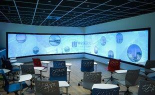 La classe du futur développée par Pixminds, Liris et Inseec U