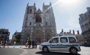 La cathédrale de Nantes a pris feu le samedi matin 18 juillet.