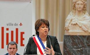 Martine Aubry a été élue par les 47 voix de la majorité PS-EELV.