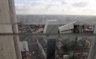 Il y a déjà des caméras à Lille, comme ici sur le Sacré cœur.