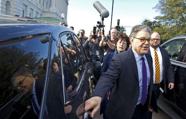 nouvel ordre mondial   VIDEO. Etats-Unis: Accusé de gestes déplacés, le sénateur Al Franken démissionne