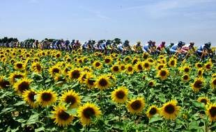 En 2005, l'étape du Tour de France entre Challans et les Essarts.
